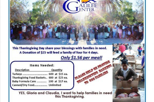 Thanksgiving Food Distribution