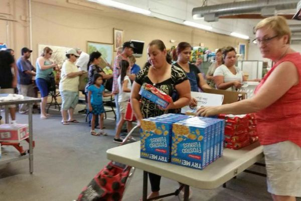 Food Distribution a Success