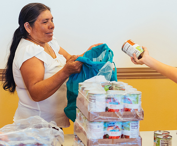 Galilee Center Food Drive helps seniors