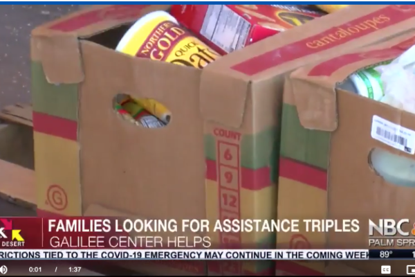 Eastern Coachella Families Looking for Food Assistance Triples.