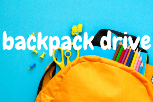 Galilee Center Holds Backpack Drive